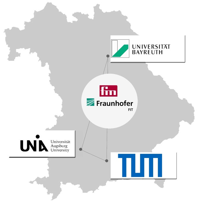 FIM in Augsburg, Bayreuth & Cooperation with the TUM